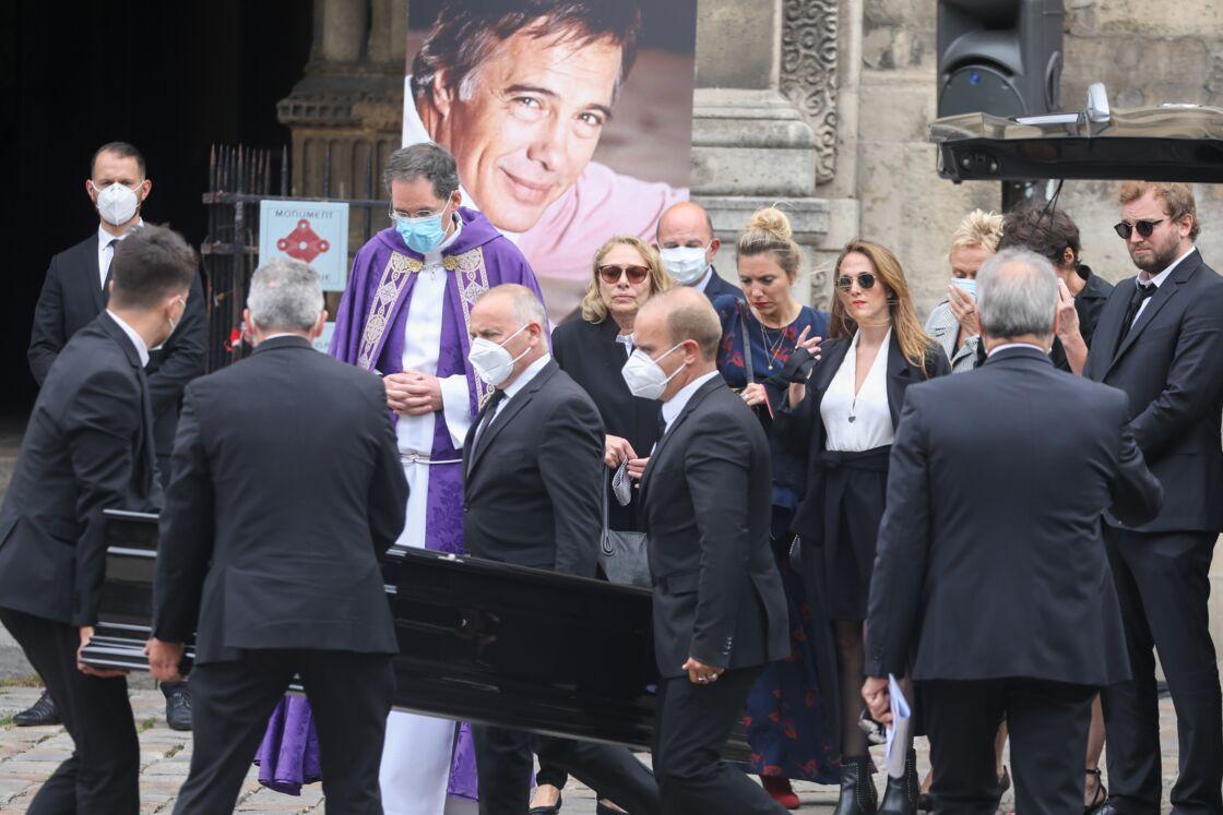 Les obsèques de Guy Bedos, à Paris, le 4 juin 2020.