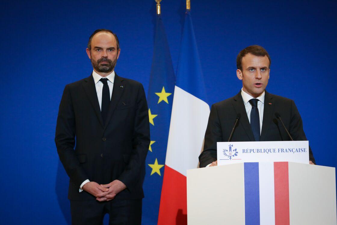 Emmanuel Macron et Edouard Philippe, deux hommes différents mais complémentaires.