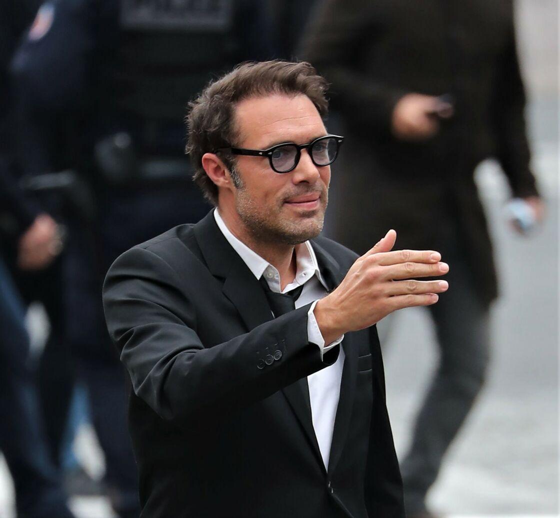 Nicolas Bedos lors des obsèques de Guy Bedos, à Paris, le 4 juin 2020.