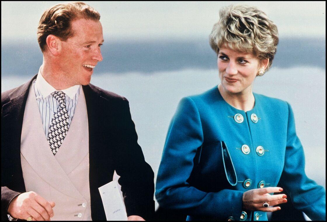 La princesse Diana et James Hewitt.