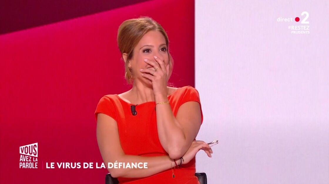 Léa Salamé choquée après les propos tenus par Nathalie Saint-Cricq, sur le plateau de Vous avez la parole, ce jeudi 4 juin.
