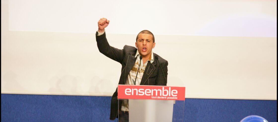 Faudel apporte son soutien à Nicolas Sarkozy durant la campagne présidentielle de 2007