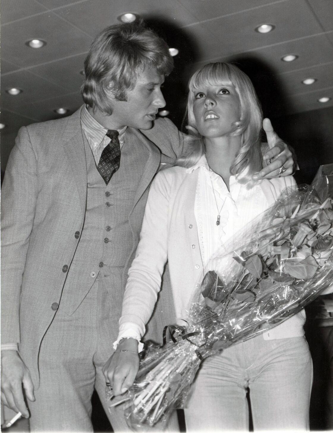 Sylvie Vartan et Johnny Hallyday, en 1968