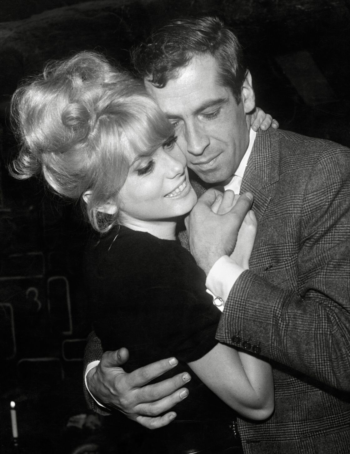 Catherine Deneuve et Roger Vadim en 1965