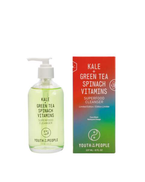 Superfood Cleanser, Youth to the people, x29,90 € en édition limitée