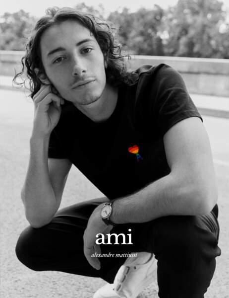 T-shirt Rainbow Ami Paris & Glaad, 90 €