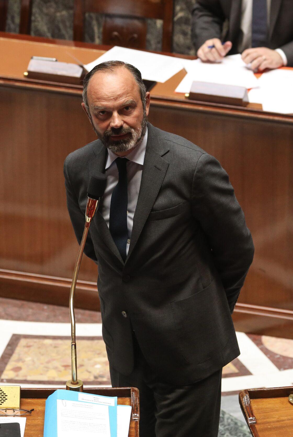 Édouard Philippe à l'Assemblée nationale, le 9 juin 2020