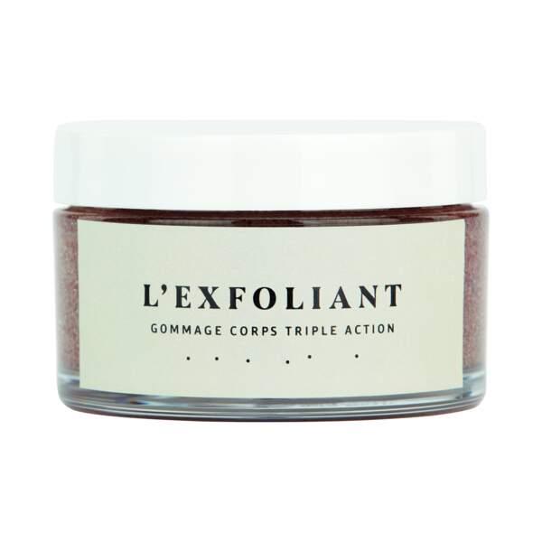 L'Exfoliant, Les laboratoires du Cap Ferret,  39 €**.