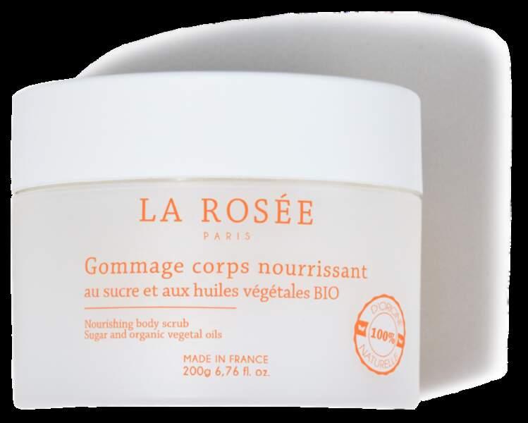 Gommage Corps Nourissant, La Rosée,  14,90 €