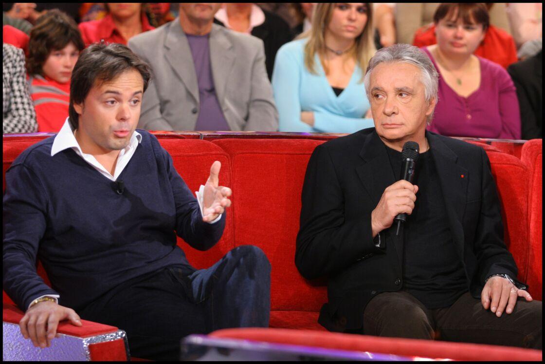 Romain et Michel Sardou en 2008