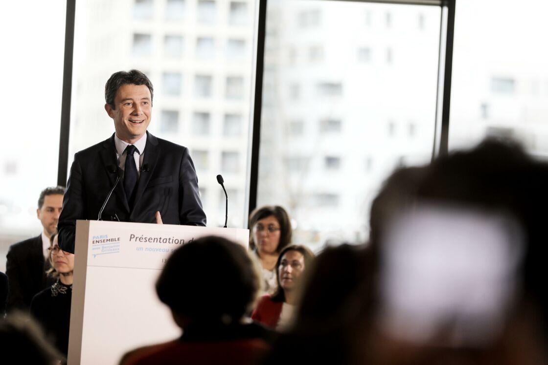 Benjamin Griveaux, le 13 février 2020, la veille du scandale et de son retrait