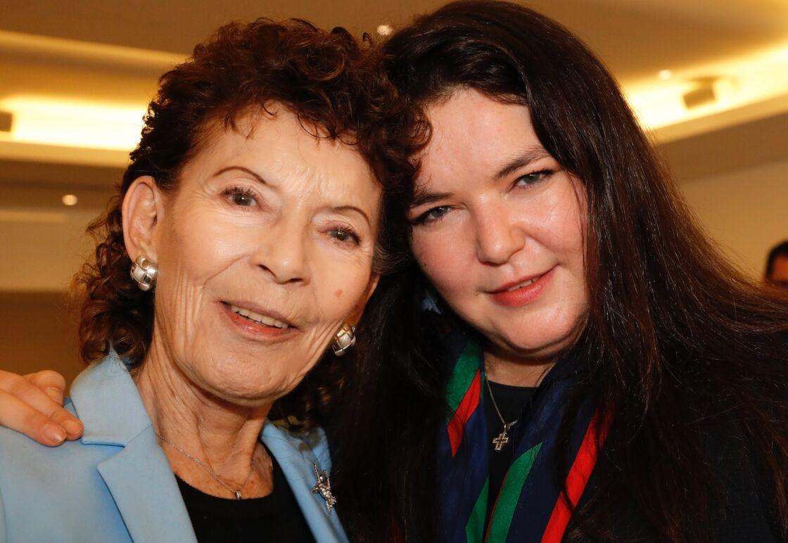 Elisabeth-Anne de Massy et sa fille, Mélanie-Antoinette en février 2019
