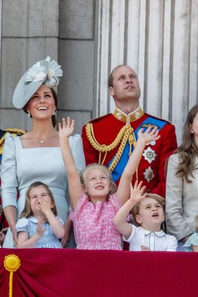 Savannah Phillips et le prince George jamais loin quand il s'agit de rigoler
