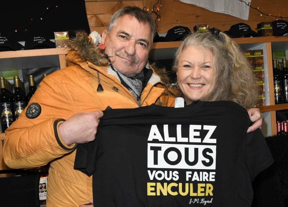 Jean-Marie Bigard et sa sœur Anne-Marie, le 15 novembre 2019 à Paris.