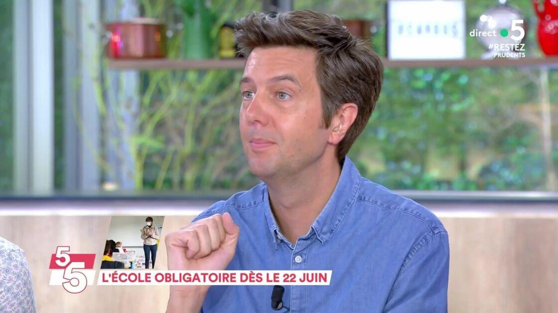 Maxime Switek dans C à vous, lundi 15 juin 2020.
