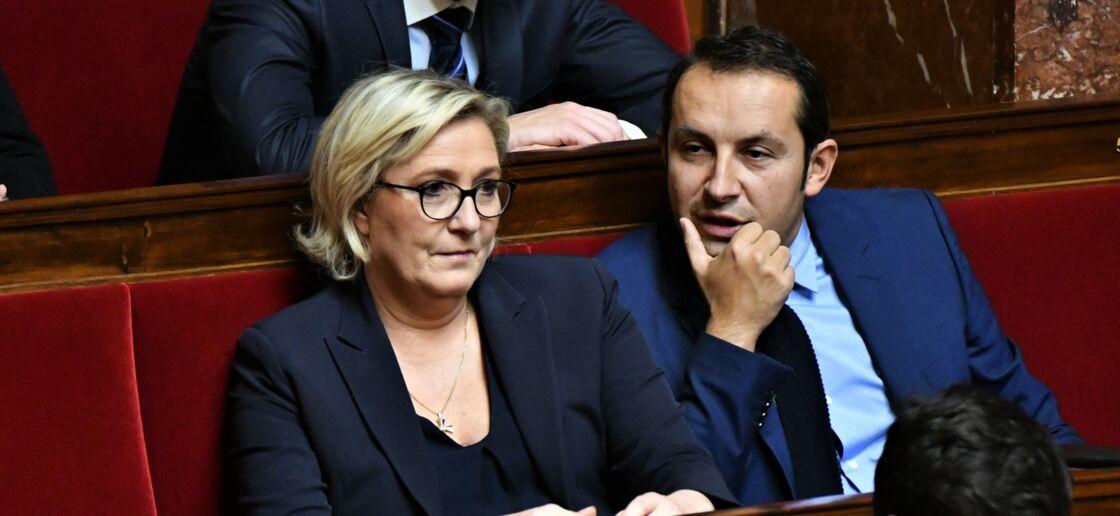 Marine Le Pen et Sébastien Chenu