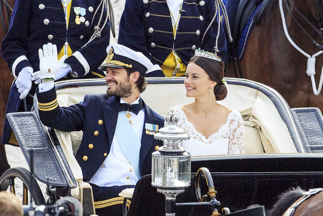 Le mariage de la princesse Sofia et du prince Carl Philip