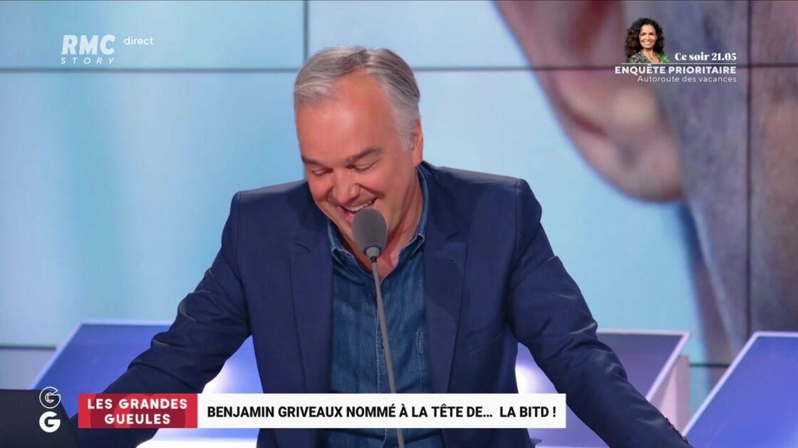 Olivier Truchot s'amuse de la mission de Benjamin Griveaux