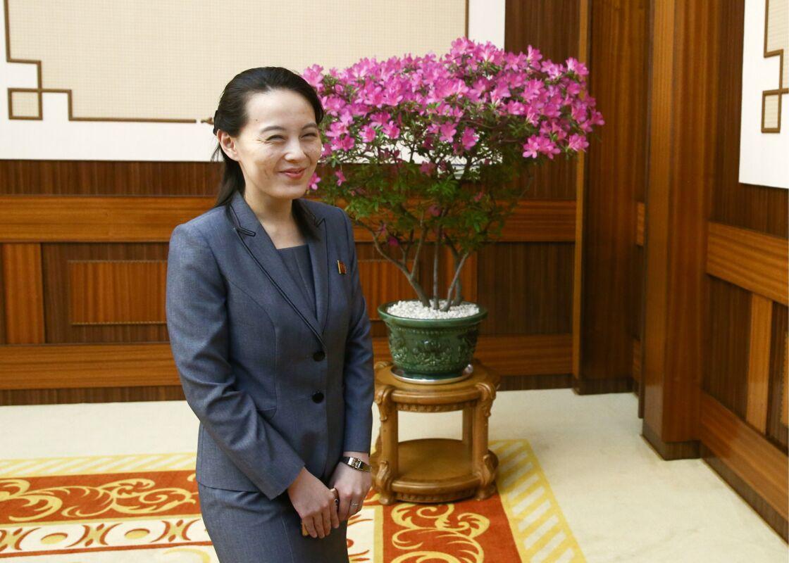Kim Yo-jong en 2018