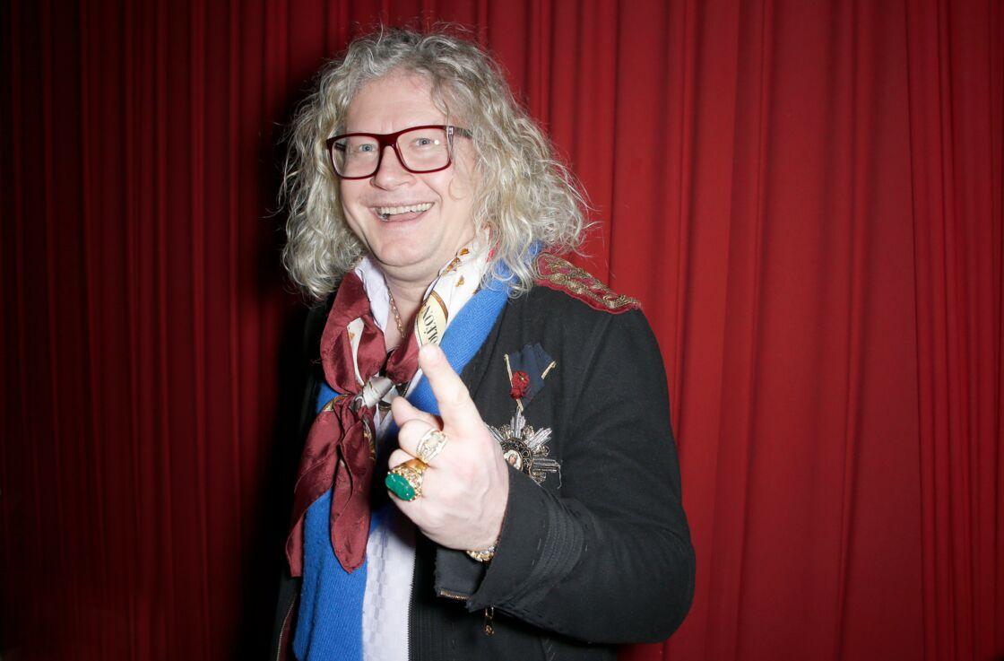Pierre-Jean Chalençon - Marcel Campion a fêté son 80ème anniversaire au Cirque d'hiver Bouglione à Paris. Le 17 février 2020