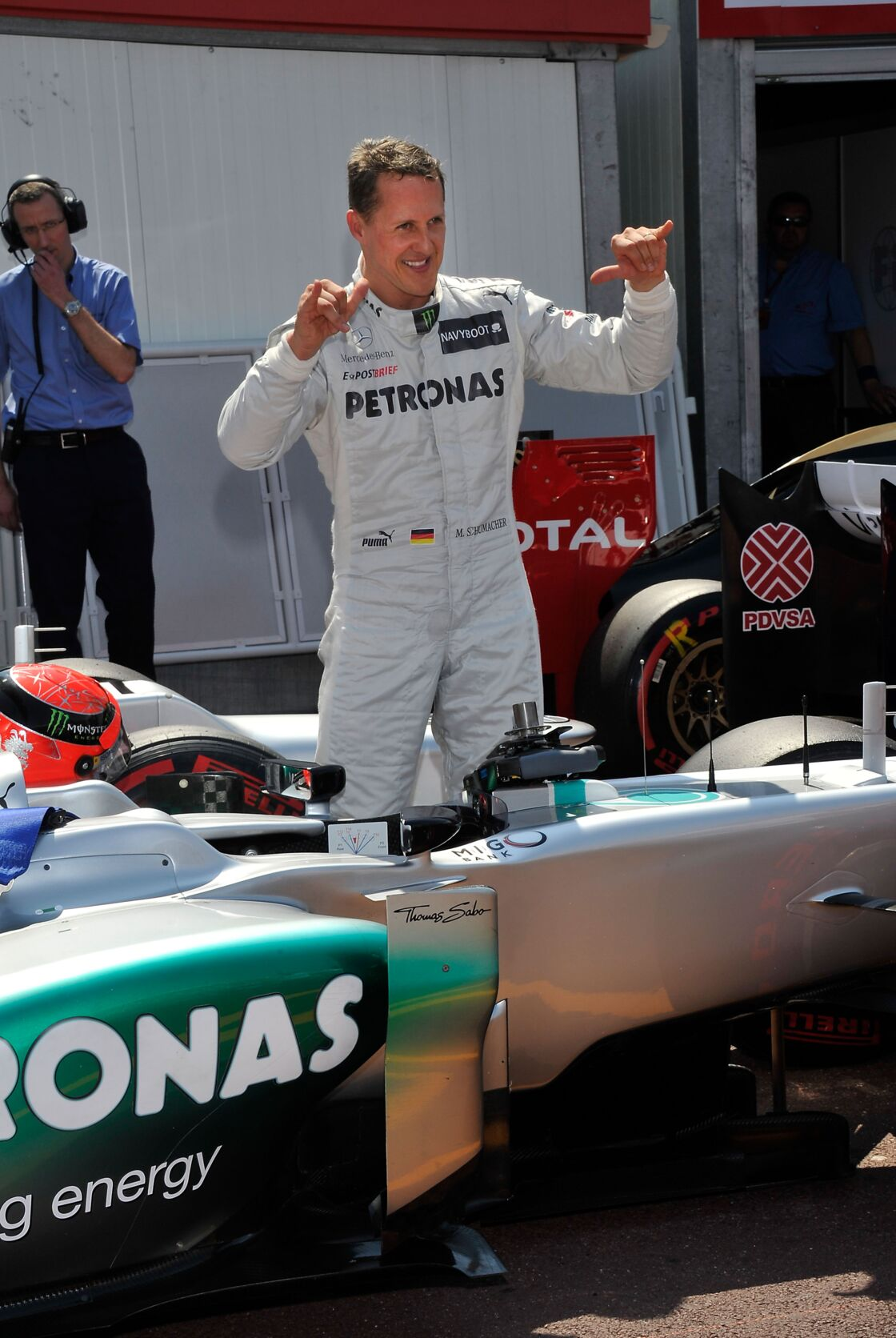 Michael Schumacher le 26 mai 2012.