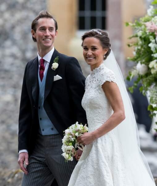 Pippa Middleton et son mari James Matthews se sont dit oui le 20 mai 2017.