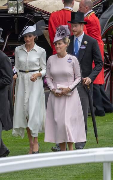 Meghan Markle et Sophie de Wessex Le 19 juin 2018