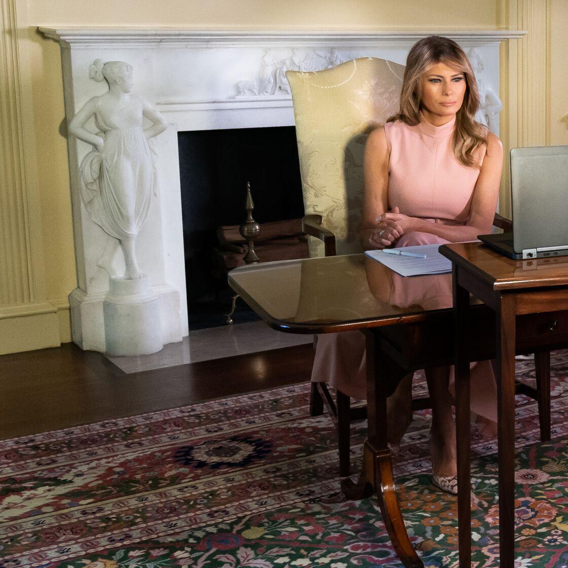 Melania Trump le 4 juin