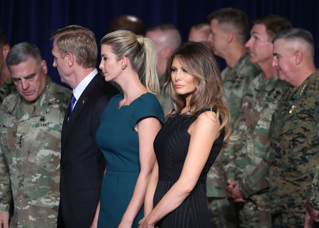 Ivanka et Melania Trump en 2017