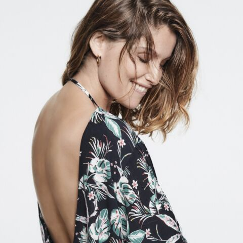 PHOTO – Laetitia Casta solaire et rock, star de la campagne IKKS pour l'été 2020