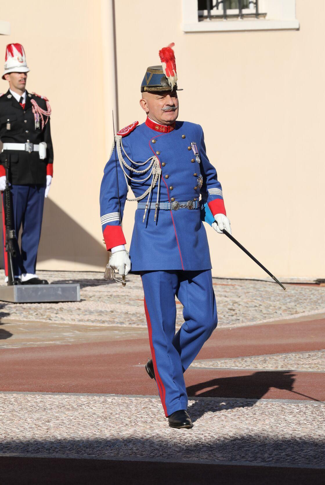 Le colonel Luc Fringant, en novembre 2017.