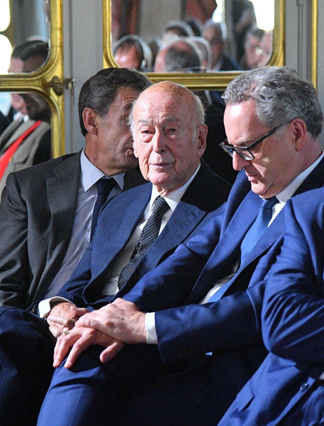 Valéry Giscard d'Estaing au Conseil Constitutionnel à Paris, le 4 octobre 2018