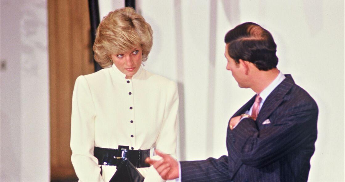 Lady Diana et le prince Charles, en 1987.