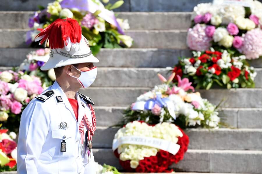 Les funérailles se sont déroulées dans les strictes règles qu'impose la crise sanitaire.