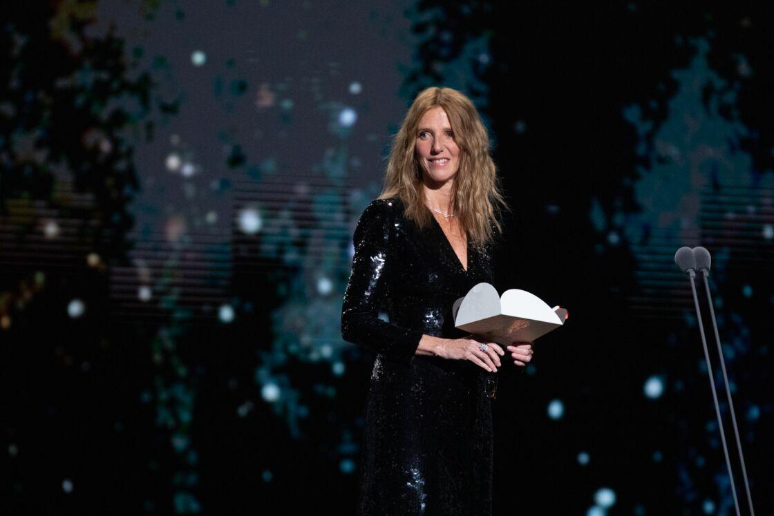 Sandrine Kiberlain lors de la cérémonie des César, le 28 février 2020