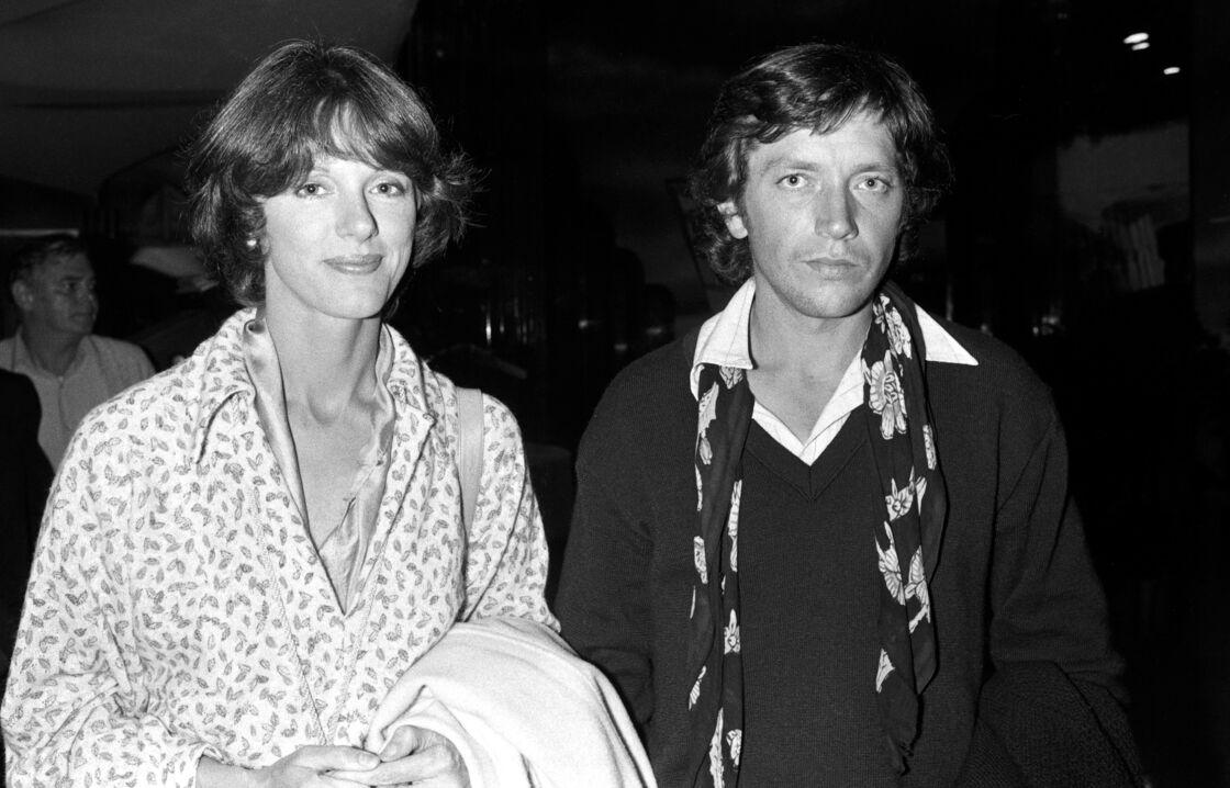 Anny Duperey et Bernard Giraudeau, le 29 octobre 1979