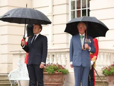 PHOTOS - Emmanuel Macron, le prince Charles et Camilla Parker Bowles pour les 80 ans de l'appel du général De Gaulle