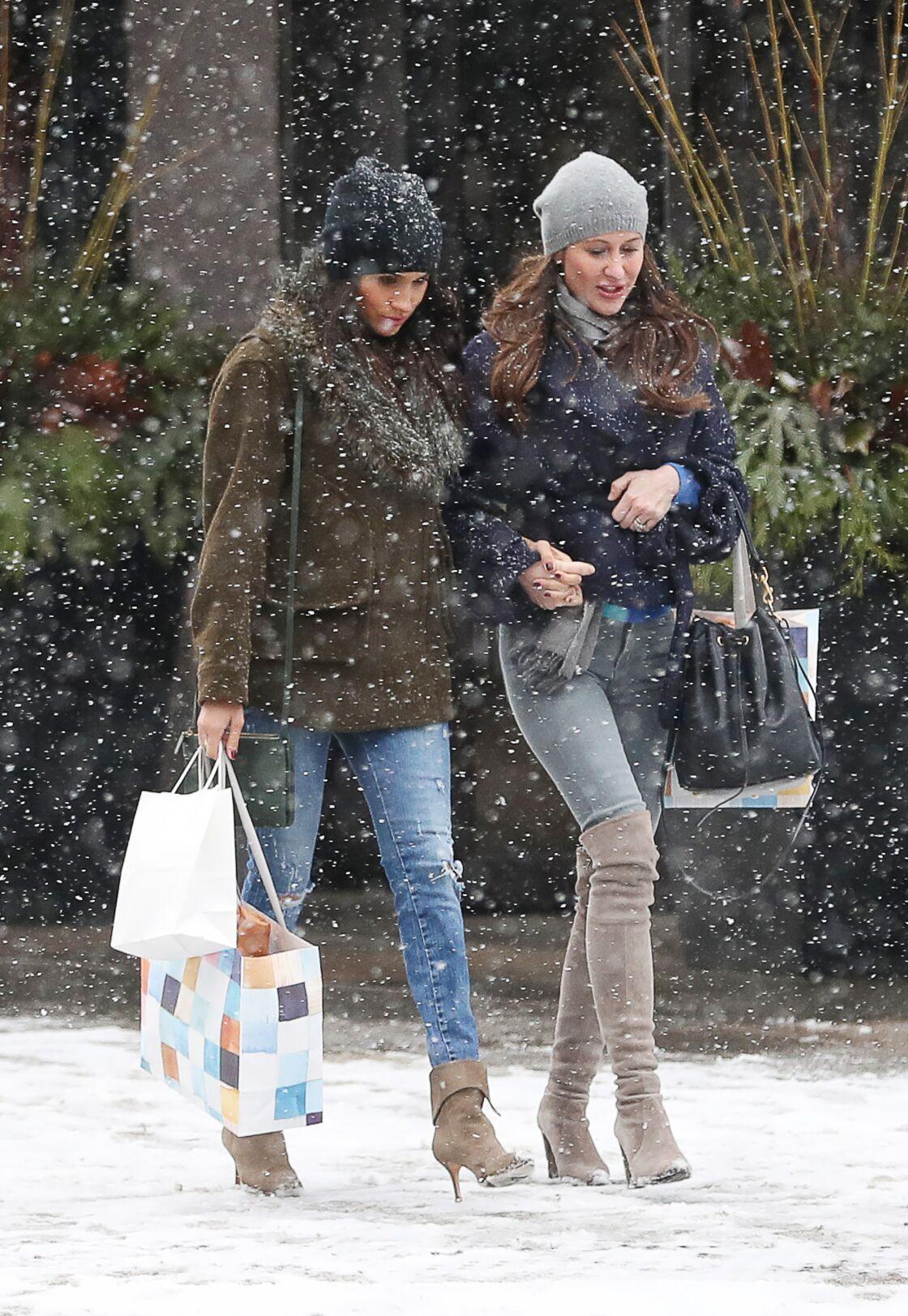 Meghan Markle et Jessica Mulroney, à Toronto, en décembre 2016.