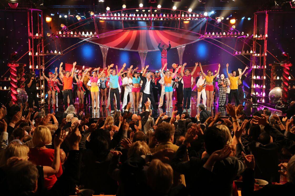 Enregistrement du Plus grand cabaret du monde, le 2 octobre 2012