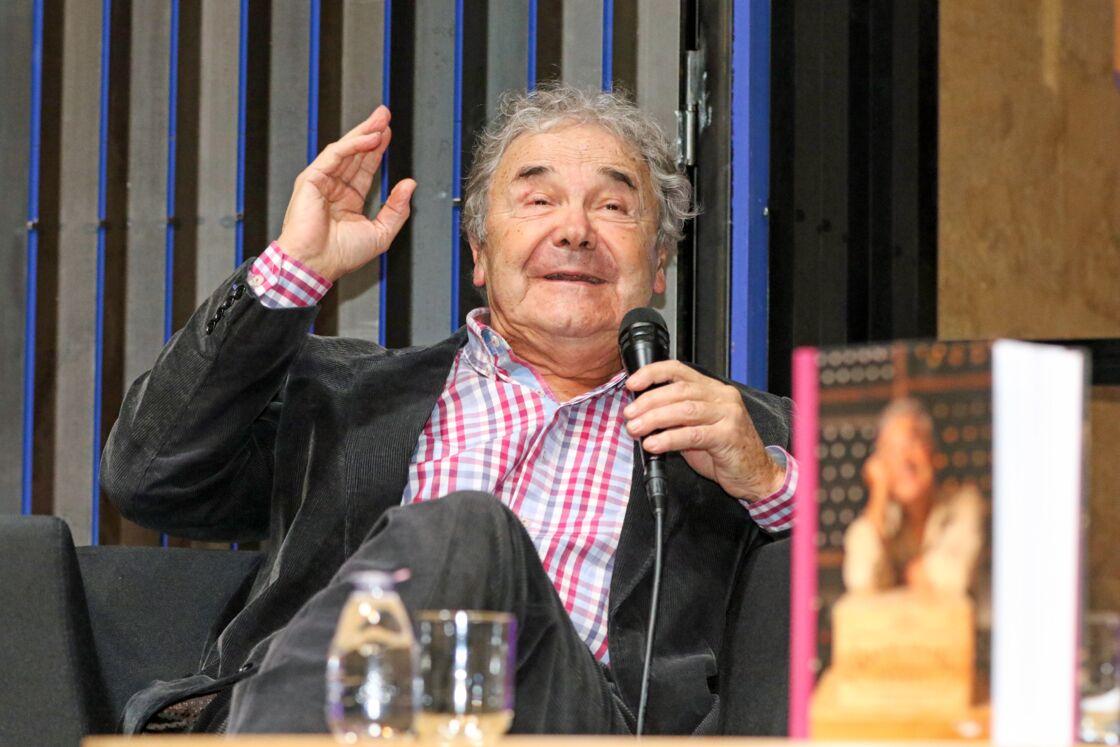 Pierre Perret présente son livre
