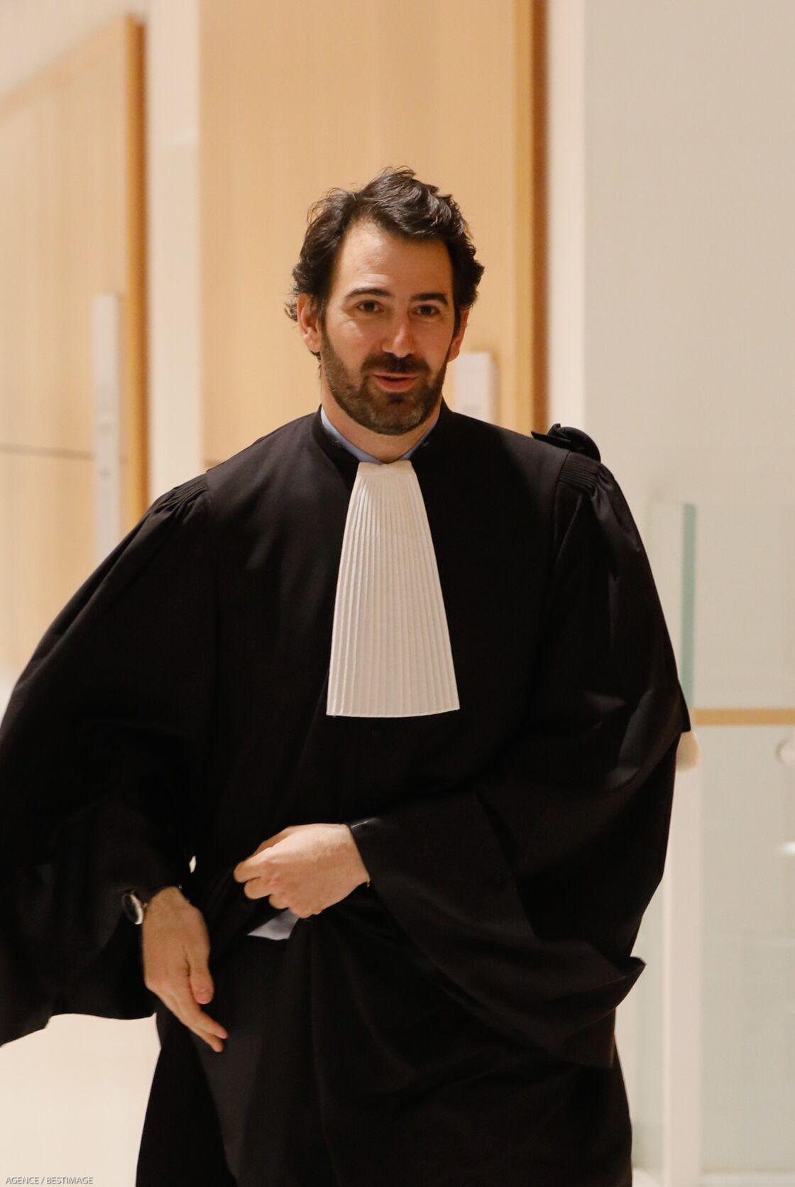 Antonin Levy lors du procès Fillon le 11 mars 2020