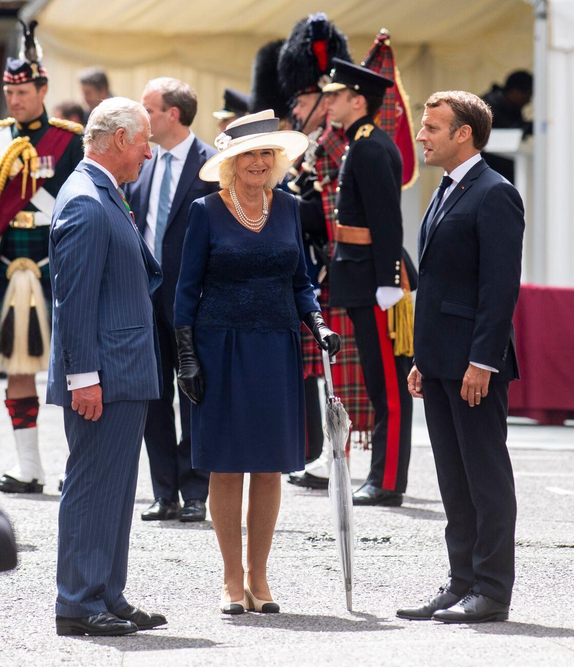 Le prince Charles et Camilla accueillent Emmanuel Macron à Londres le jeudi 18 juin 2020
