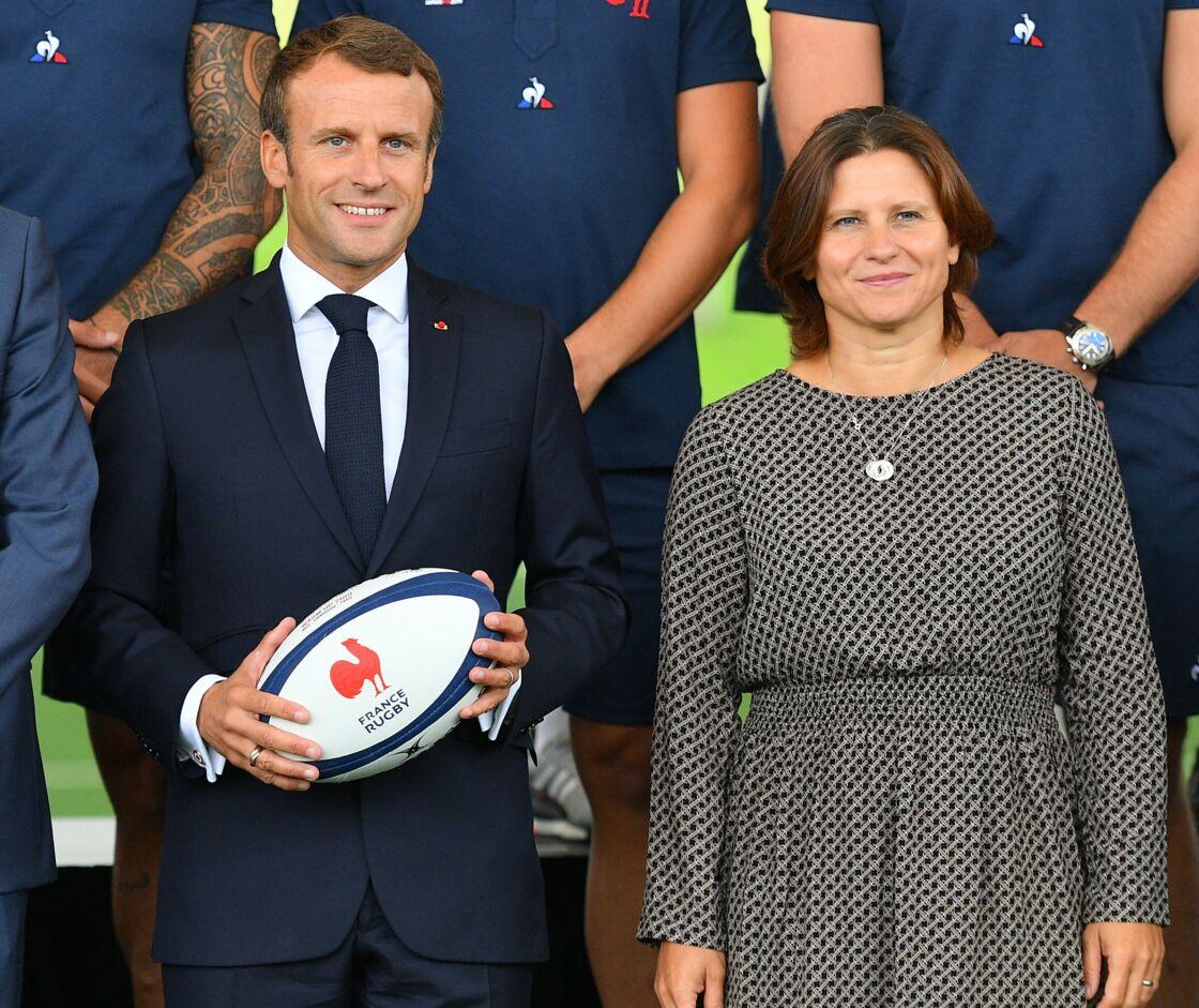 Emmanuel Macron et Roxana Maracineanu