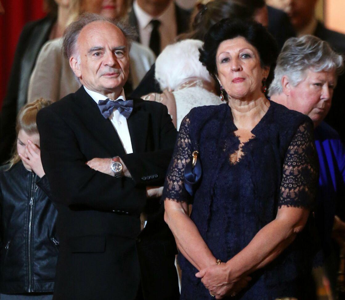 Jean-Michel Macron et Françoise Noguès-Macron
