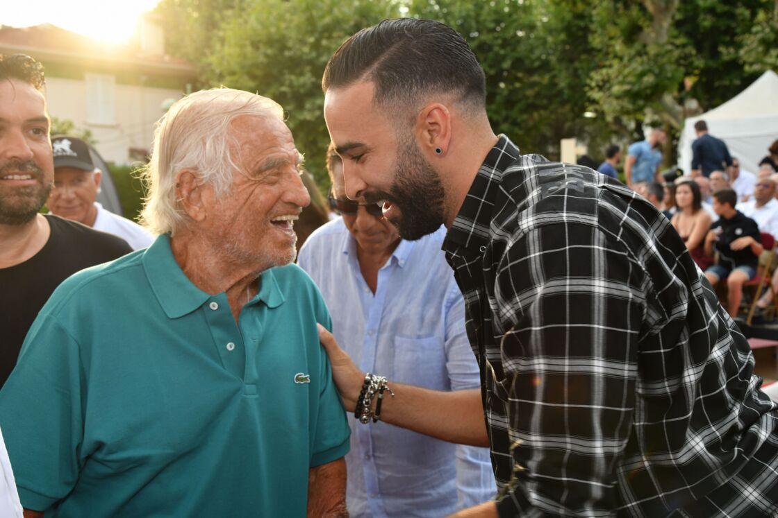 Jean-Paul Belmondo et Adil Rami en 2019
