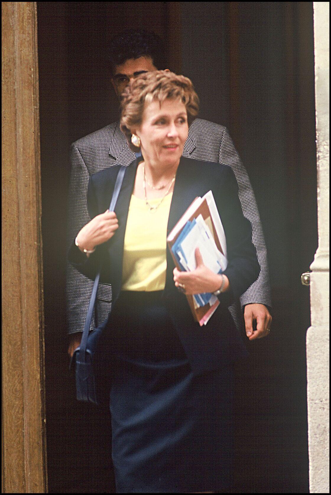 Edith Cresson à Matignon
