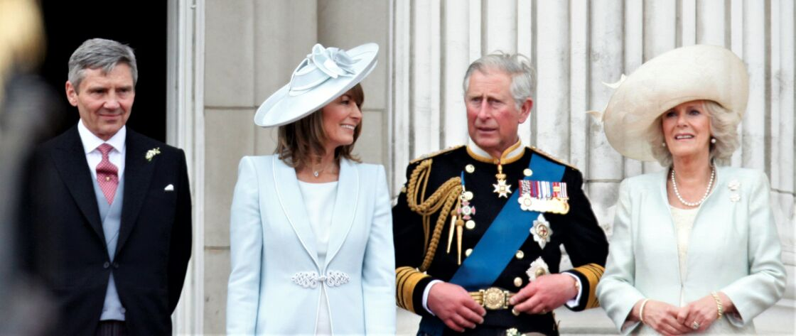 Michael Middleton, Carole Middleton, le prince Charles et Camilla Parker-Bowles.
