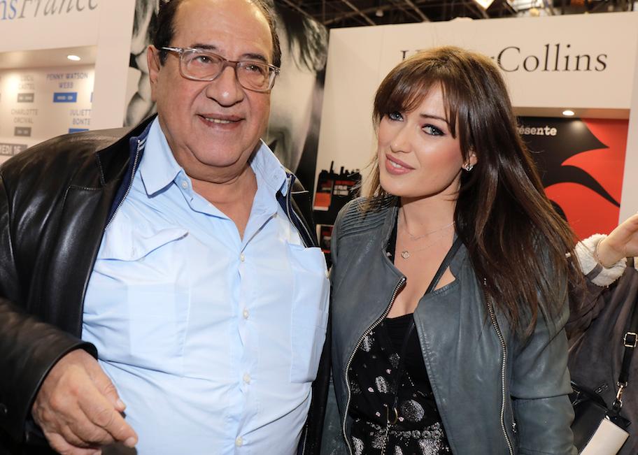 Jean-Luc Azoulay et Elsa Esnoult en 2019