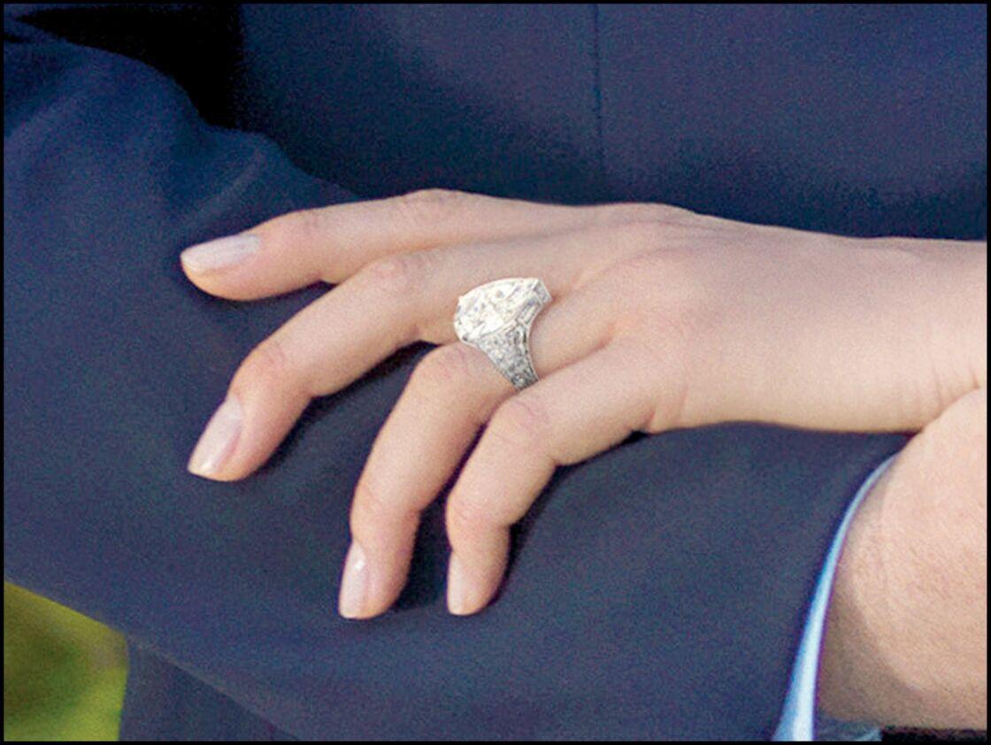 Bague de fiançailles de Charlène Wittstock