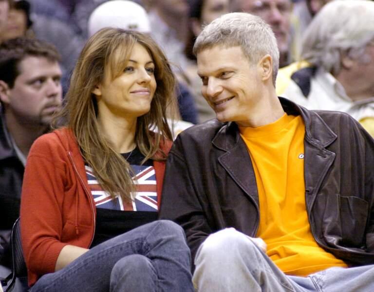 Selon Steve Bing, sa relation avec Elizabeth Hurley était non-exclusive.